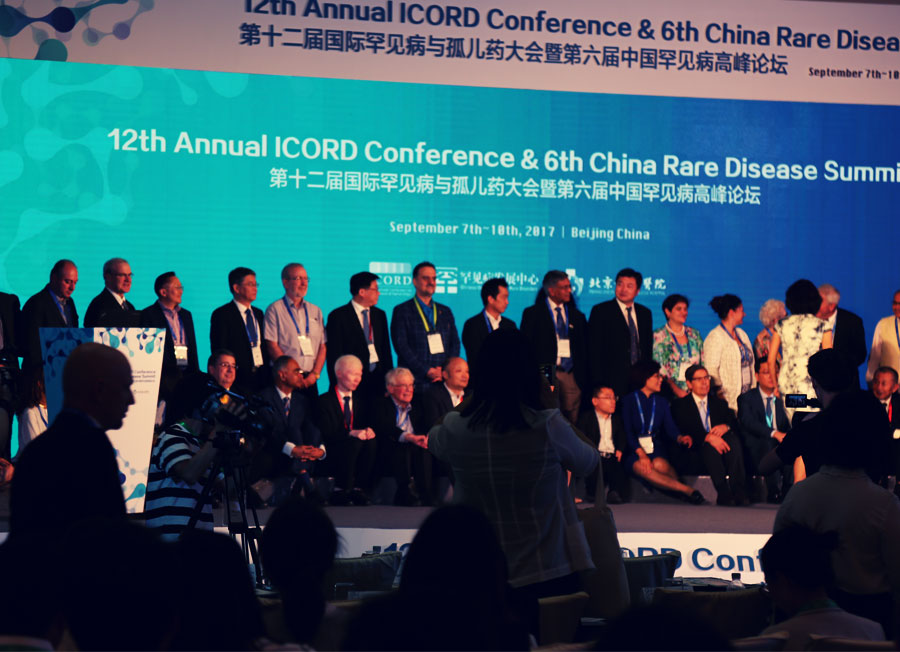 Rare Diseases Foundation of Iran at the 12th Annual ICORD Conference in China