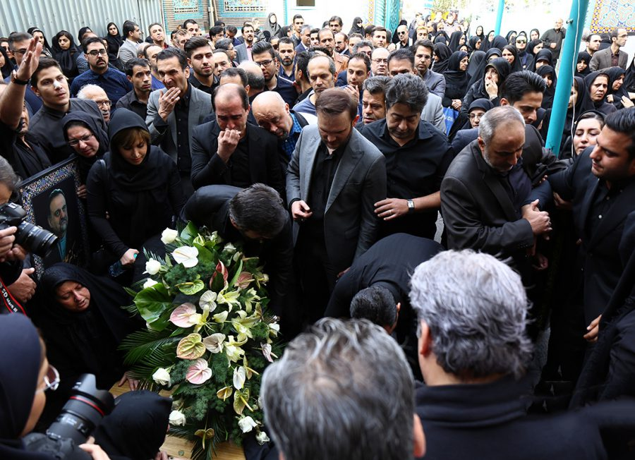 The funeral for the father of Iranian Rare Diseases Patients