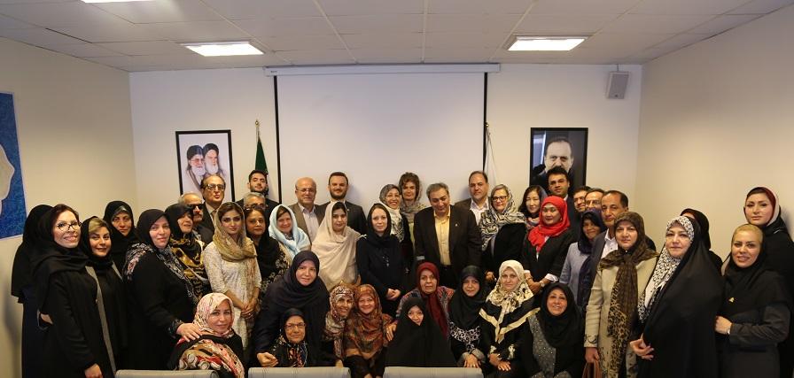 همسر دکتر محمدجواد ظریف، سفیر مهربانی بنیاد بیماری های نادر ایران شد