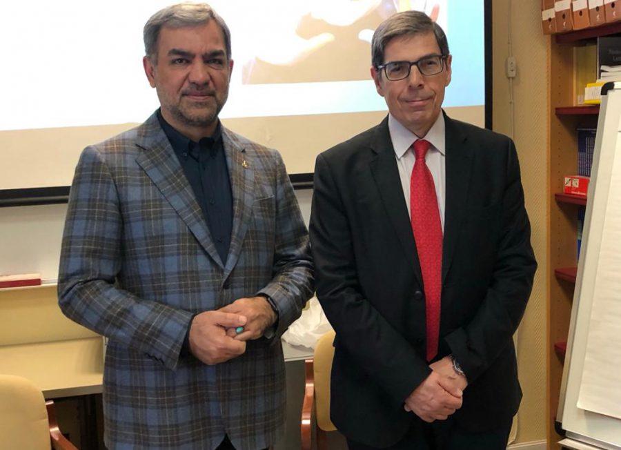 رایزنی رئیس مرکز مدیریت پیوند و درمان بیماریهای وزارت بهداشت در خصوص بیماران نادر در اسپانیا