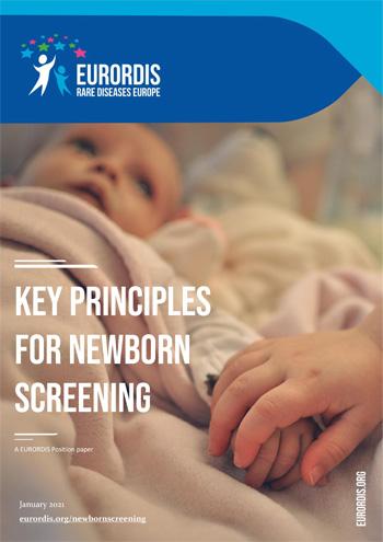 Key principles for newborn screening