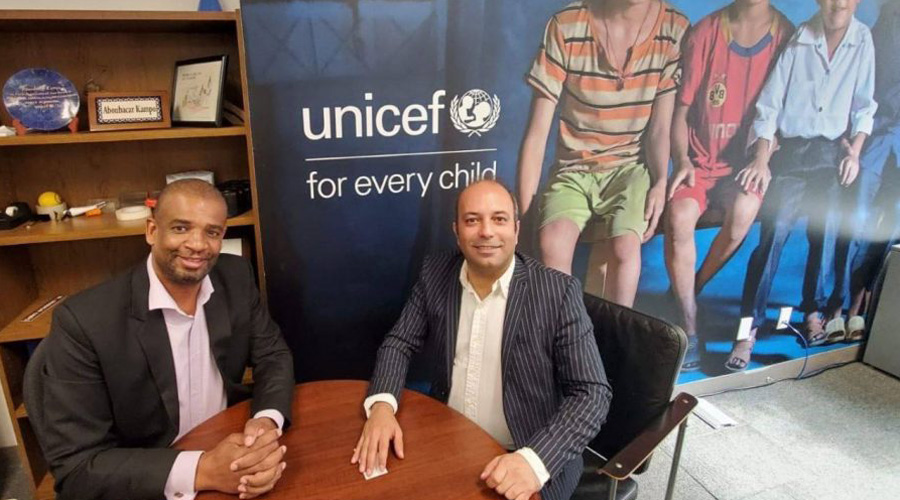 Kamran Najafzadeh, RADOIR Ambassador Interviewed With UNICEF Director of Health Programs in USA
