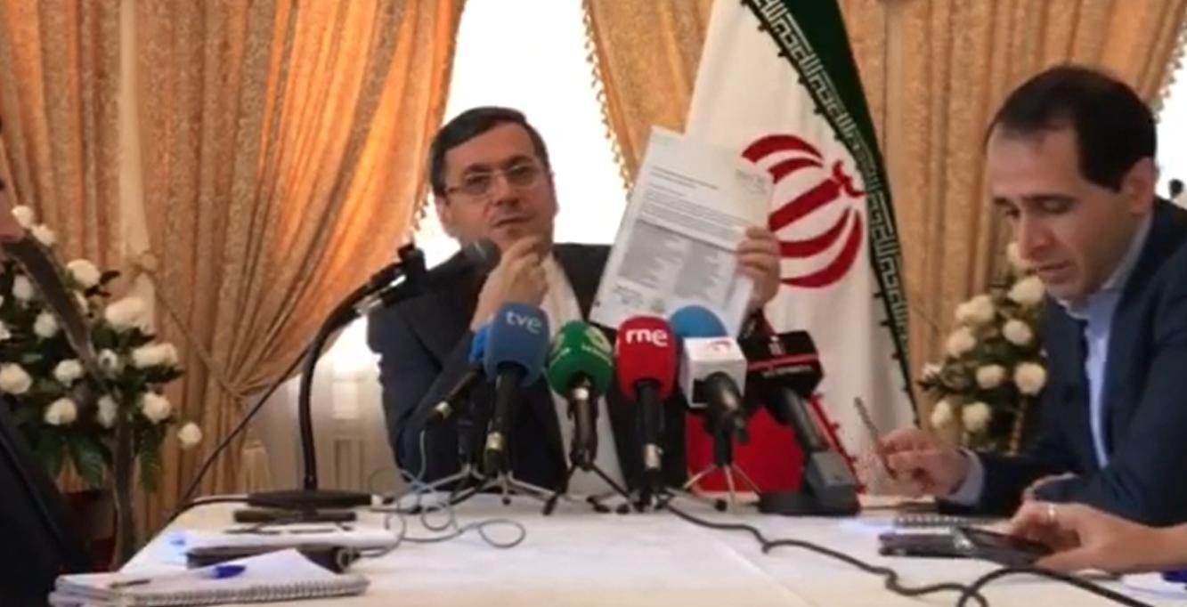 سفیر ایران در اسپانیا: تحریم های امریکا موجب عدم دسترسی دارو به بیماران نادر ایران شده است