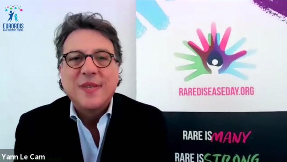 پیام ویدئویی دبیر اجرایی اتحادیه بیماریهای نادر اروپا